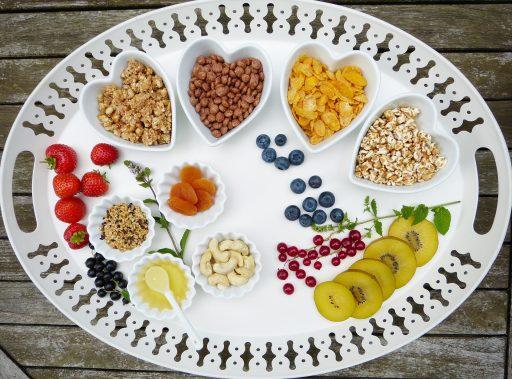 Alimentos y cantidades recomendados